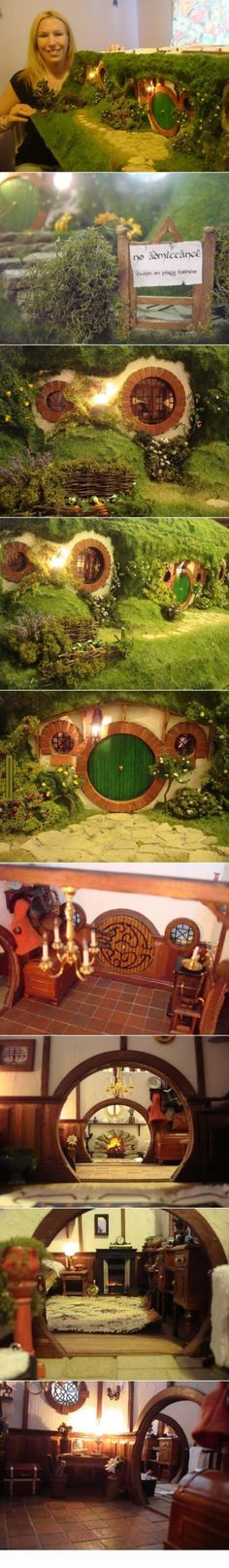 Beautiful Hobbit Dollhouse