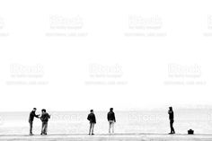 People At The Coast Of Kordon royalty-free stock photo