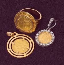 short gold coin necklaces - Google Search