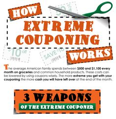 Extreme couponing the right way. Yes it works. Yes it saves real money. Just remember, don't be a shelf clearer, don't be rude or greedy about the items, use coupons correctly, and above all, be a nice couponers that most of us strive to be. How extreme couponing works. Yes!