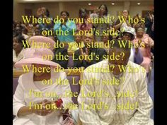 Who's on the Lord's Side by Rev. Timothy Wright and the Timothy Wright Concert Choir - YouTube
