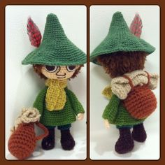 Knitting Projects, Knitting Patterns, Crochet Patterns, Crochet Wool, Crochet Hats, Hobbies And Crafts, Diy And Crafts, Diy Doll, Amigurumi Doll