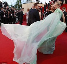 Diane Kruger at the screening of Moonrise Kingdom by Wes Anderson in Cannes