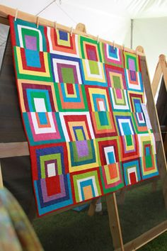 Square Dance, by Amy Walsh at the Sister's Outdoor Quilt show