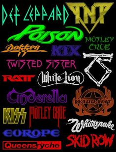 80s hair bands                                                       …