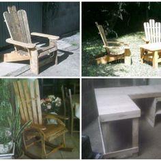 Fabrication De Meuble En Palettes / Furniture From Repurposed Pallets
