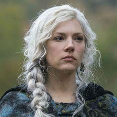 Katheryn Winnick Vikings, Lagertha Vikings, Viking Braids, Viking Hair, Viking Queen, Viking Woman, Ragnar Lothbrok, Floki Viking, Dreads