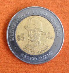 Ignacio Allende, moneda del bicentenario