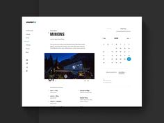 Snowbird Event Calendar V1 by Ben Cline