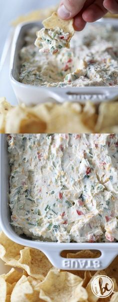 Really Good Jalapeño Dip - you only need a few ingredients to make this flavor-packed dip! #dip #appetizer #recipe #jalapeñodip