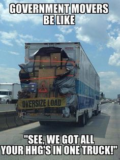Who has moved recently and knows the horror of PCS 'ing? #military #move humor and funny bits from #USMC Life