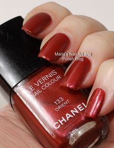 Chanel Orient spring 2004 swatches - vintage