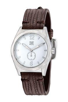 Uno De 50 Women's Take Your Time Quartz Leather Strap Watch