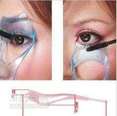 mascara shield...WANT @ The Beauty ThesisThe Beauty Thesis