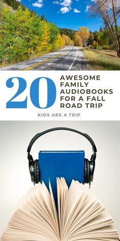 If you are taking a fall road trip with kids, why not find audiobooks that make time fly by? These books for all ages wil make