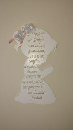 Oração Santo Anjo - Menina