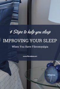 4 Steps To Improving Your Sleep With Fibromyalgia