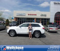Wolfchase Chrysler Jeep would like to say Congratulations to Natalie Welch on the 2014 Jeep Grand Cherokee