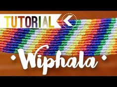 Wiphala simple / ♥︎ Pulseras de macramé | DIY | Paso a paso - YouTube