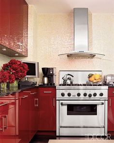 Find That Perfect Red For Your Kitchen With Colorhouse Hues Petal 06 Clay