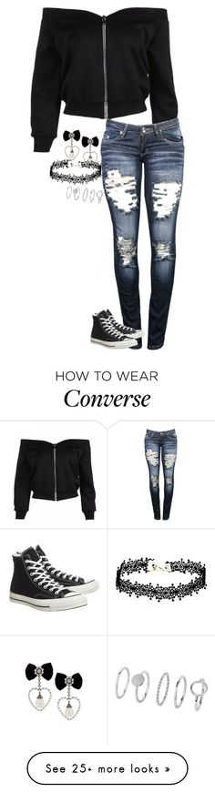 """Untitled #730"" by audett99 on Polyvore featuring Converse"