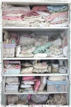 Inside my Shabby chic Wardrobe