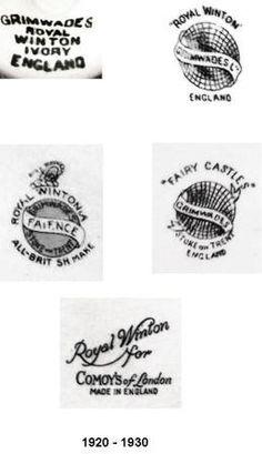 Royal Winton Backstamps 2