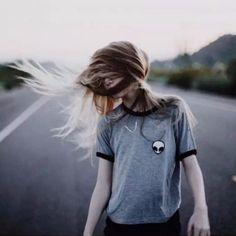 128b76751abd66 Women Hipster Harajuku Cute Stripe Short Sleeve Cotton Tshirts Crop Top Tee  Alien Embroidery T Shirt