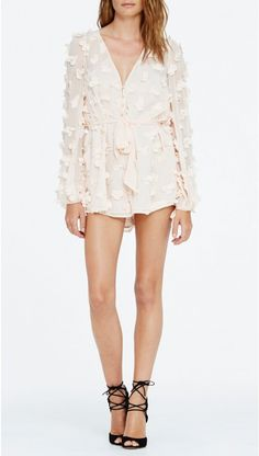 89351e0acf0d alice McCALL Wild Flowers Playsuit Shell Pink Alice Mccall