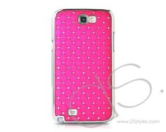 Product Description:  Sparkle crystal back case is ultra-thin, light-weight and durable hard shell case that protects your Samsung Galaxy Note 2 N7100, which will make you the envy of all your friends.The perfect fit has a right design and openings for sync port, headphone jack and main/side butt...