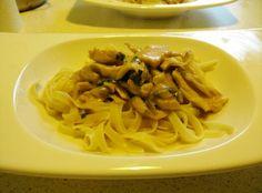 German Hunter's stew with pasta