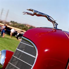 Classic Lincoln Hood Ornament 1930s