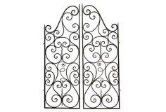 French Wrought Iron Gates