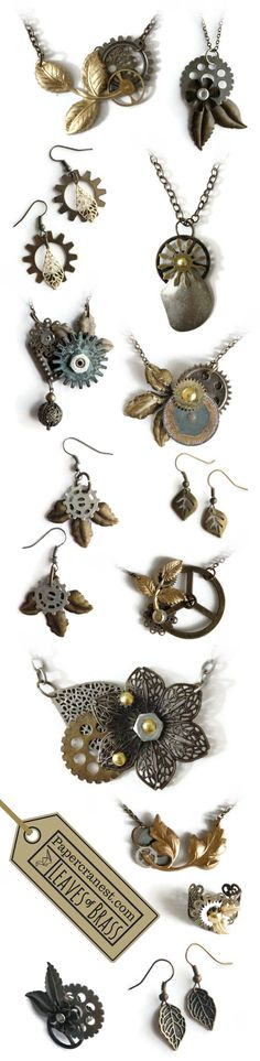 Find your next wearable adventure!  Papercrane Studios creates one-of-a-kind jewelry and accessories using found items from all over the world. It's a Steampunk+ adventure lifestyle!