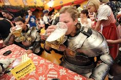 Why Joust When You Can Drink?