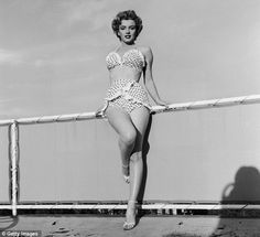 Marilyn Monroe: Stunning exhibition of rare photos and artefacts marks 50 year anniversary of iconic star's death Marylin Monroe, Singer, Actresses, Portrait, Showgirls, American Actors, Bathing Suits, Polka Dot, Swimwear