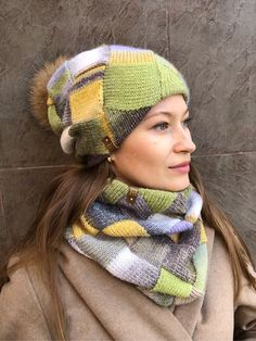 Diy And Crafts, Arts And Crafts, Knitting Accessories, Hats For Women, Tatting, Knitted Hats, Knit Crochet, Winter Hats, Sewing