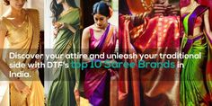 #raisethebar #dtf #dothef #dothefashion #top10 #sarees #India #silk