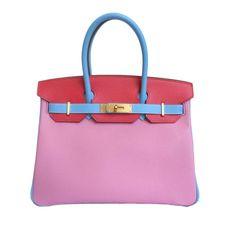Hermès Birkin Special Order Bag 30 Tri-Color Epsom fa83adb3ac371