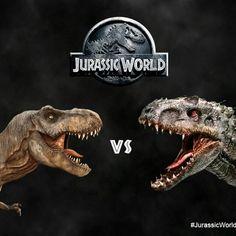 Jurassic World - I-Rex vs T-Rex