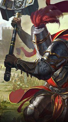 Knight. Fantasy