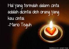 Kata kata Cinta Mario Teguh | Kata Kata Cinta Romantis