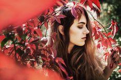 Autumn girl - Red girl