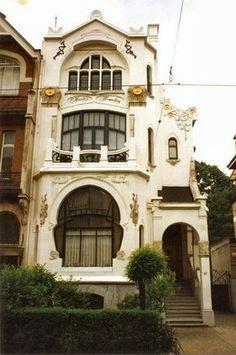 Art Nouveau in Antwerp ~