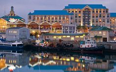 The Victoria and Alfred Hotel on the V&A Waterfront in the Cape Town Harbour is one of the hotels we use regularly for our clients.