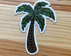 Zentangle - palmera