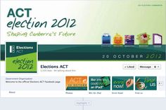 2B Advertising & Design - Elections ACT Facebook Page