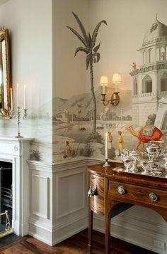 Zuber Papier Peint Tapeten Ideen, Esszimmer Tapete, Wohnzimmer Farbe,  Deckengestaltung, Kolonialstil,