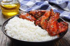 Egy finom Mézes-csilis csirkeszárny ebédre vagy vacsorára? Mézes-csilis csirkeszárny Receptek a Mindmegette.hu Recept gyűjteményében! Roasted Chicken, Tandoori Chicken, Glazed Chicken, Roast Chicken And Gravy, Coconut Rice, Ketchup, Chicken Wings, Appetizers, Tasty
