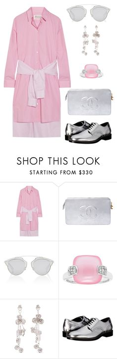 """""""The Cure!"""" by schenonek ❤ liked on Polyvore featuring Maison Margiela, Chanel, Christian Dior, Balenciaga and Dsquared2"""